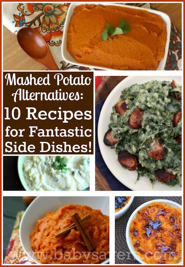 Mashed Potato Substitutes