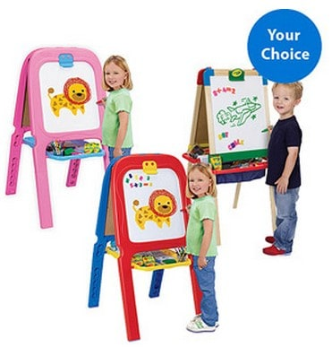 Crayola Art Easel From 20 Free Shipping Eligible