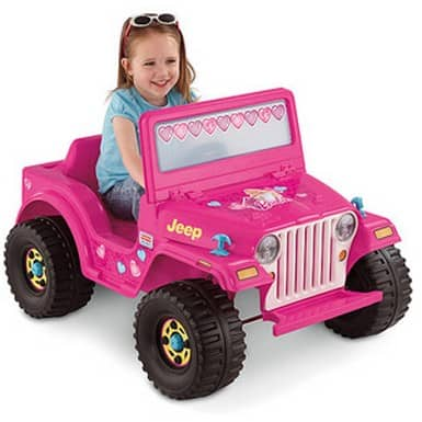 Fisher-Price Power Wheels Jeep 6-Volt Battery-Powered Ride-On just