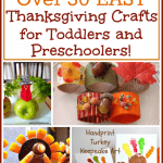 Easy Thanksgiving Crafts: 30+ Thanksgiving Crafts for Toddlers and Preschoolers