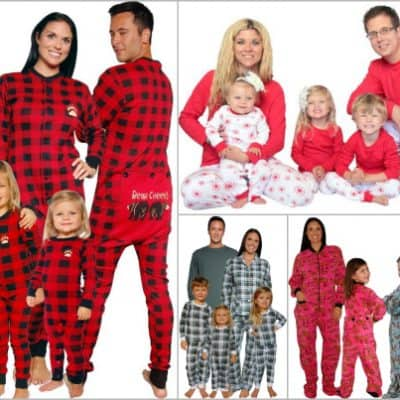 Family Christmas Pajamas in Lots of Styles!