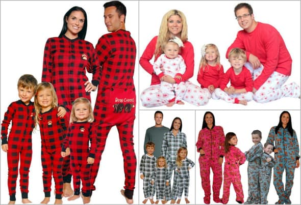 Family Christmas Pajamas  Cute Matching Pjs   Funny Sleepwear 7b94e110d