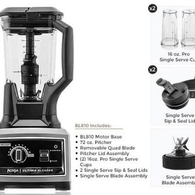 Holiday Gift Idea: Ninja Ultima Dual Stage Blender