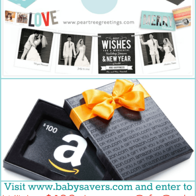 Pear Tree Greetings Review: Holiday Photo Cards + $100 Amazon Gift Code Giveaway!