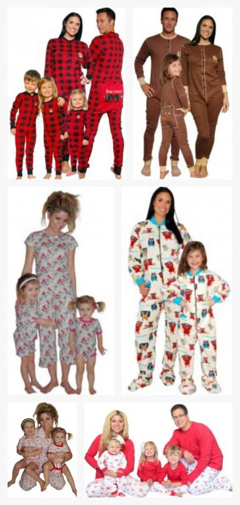 Matching family pajamas