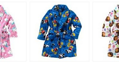 Character Toddler Fleece Robes just