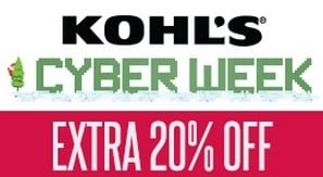 Kohls Extra 20% off + FREE Shipping Ends Today!