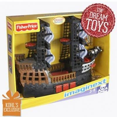 Kohl's: Fisher-Price Imaginext Pirate Ship just $16.99 (reg $59.99)!