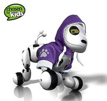 Zoomer Robot Dog with Bonus Hoodie just $79 97, Free Shipping