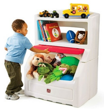 The ...  sc 1 st  Babysavers & Step2 Lift u0026 Hide Bookcase Storage Chest just $75 Free Shipping! Aboutintivar.Com