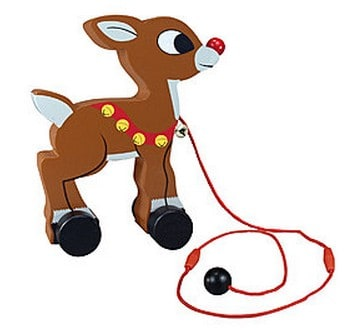 Rudolph Pull Toy