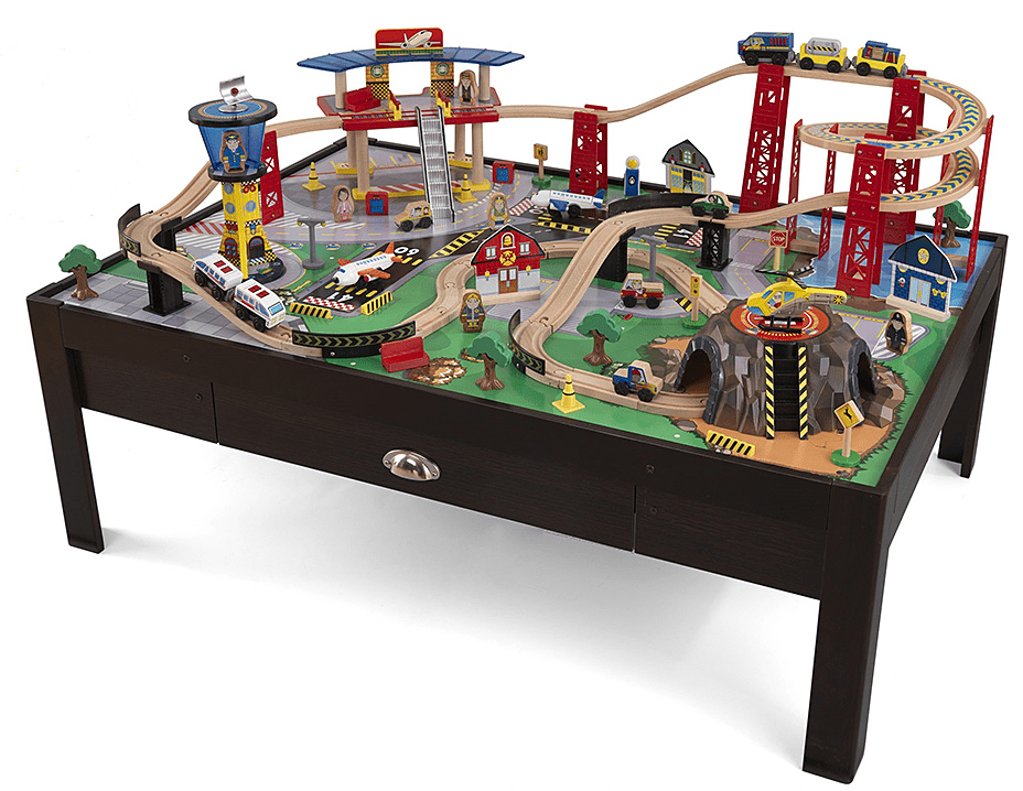 Model Train Tables : Zulily deals on wooden toy trains accessories save up
