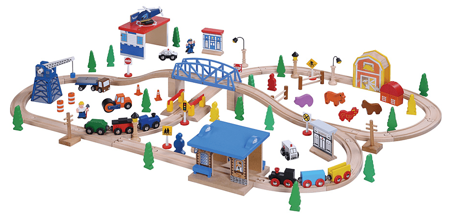 Toy+Train+Tracks Zulily Deals on Wooden Toy Trains & Accessories: Save ...