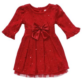 Kohls.com CyberWeek Deal: Save 20% on the Clearance Youngland Sequin Knit Dress + Free Shipping
