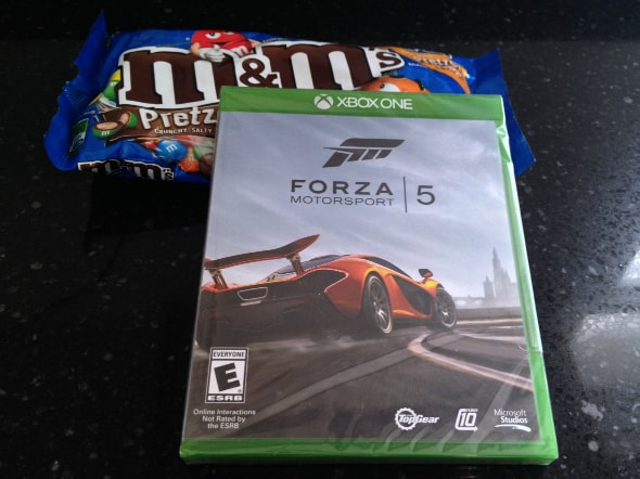 Forza Motorsport 5 and M&M's