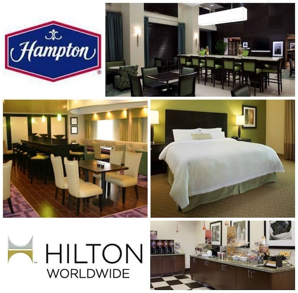 Hampton inn for holiday