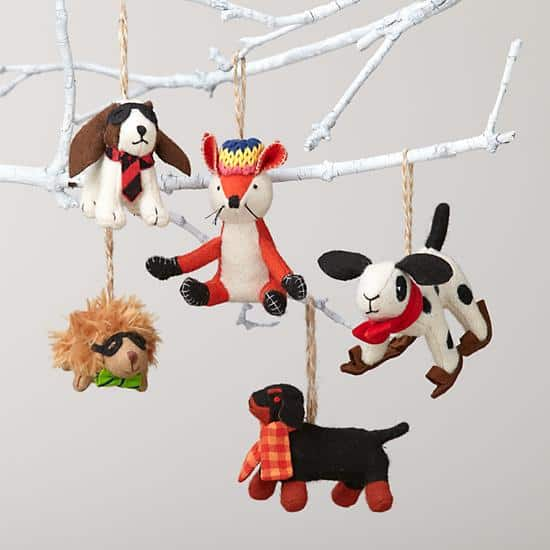 land of nod animal ornament