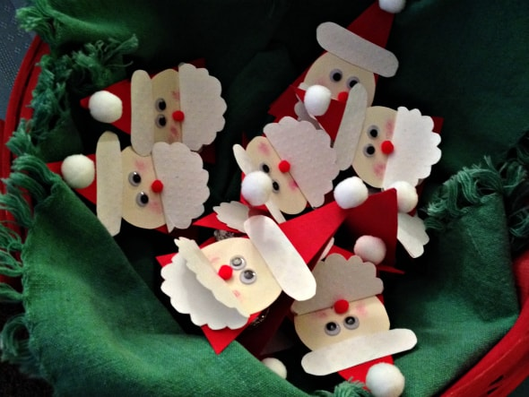 santa diy party favors