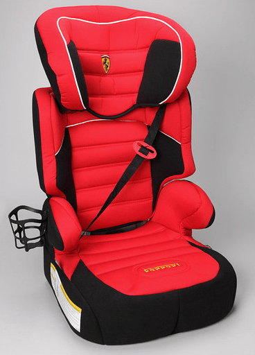 Zulily Deal Save 56 On The Ferrari Red Dreamway Booster Car Seat