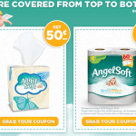 Angel Soft Coupon with Matchups: Save Big on Tissues and Toilet Paper