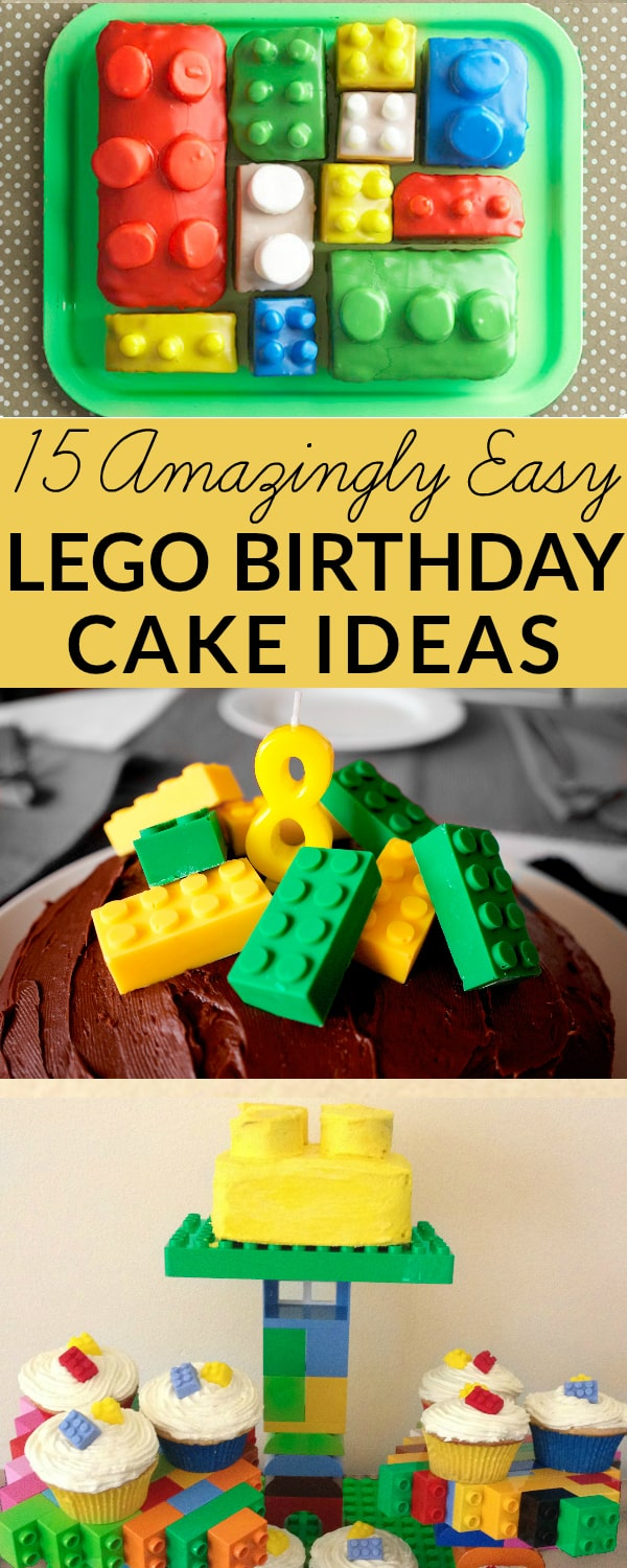 Lego cake ideas for birthdays