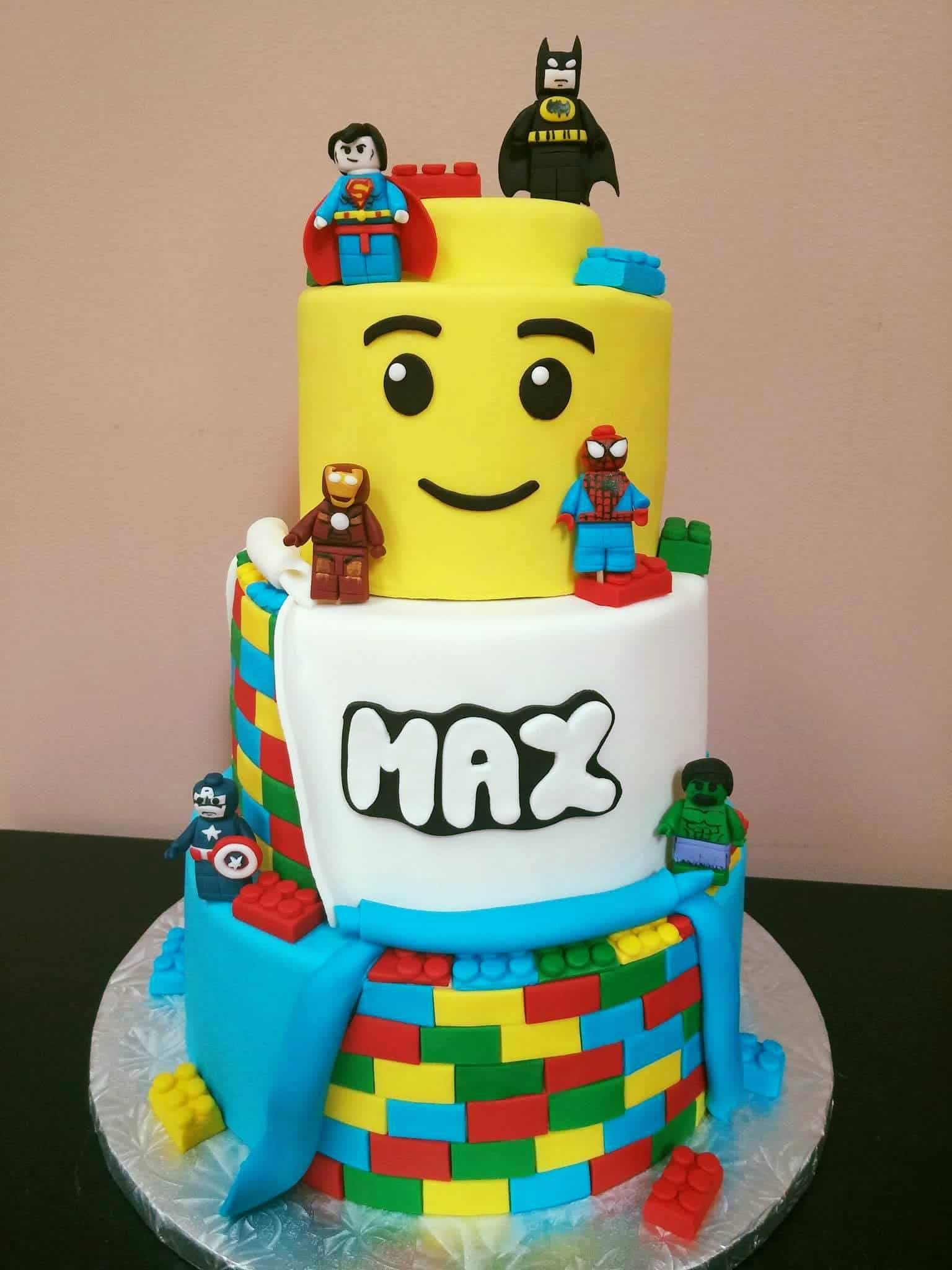 how to make a lego cake