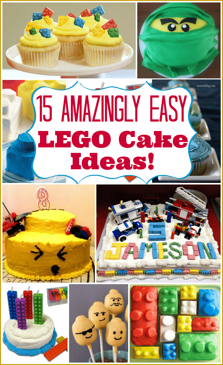 Outstanding Lego Cake Ideas How To Make A Lego Birthday Cake Birthday Cards Printable Giouspongecafe Filternl