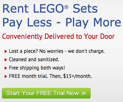Free 30-Day PLEY Trial with FREE Shipping: Like Netflix for LEGO Sets!
