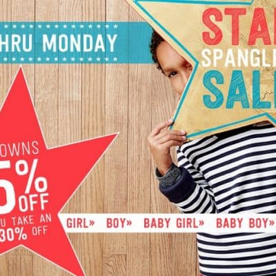 Crazy8 Sale: Up to 75% off with Extra 30% off Markdowns!
