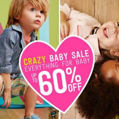 Crazy8 Sale: 60% off Everything for Baby + FREE Shipping!