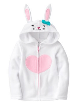 Kohls.com Promo Code: Save 60% on the Bunny Microfleece Hoodie + 15% Off Code (Free Shipping eligible)