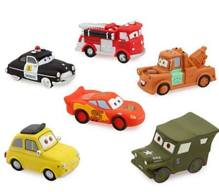 disneystore cars set
