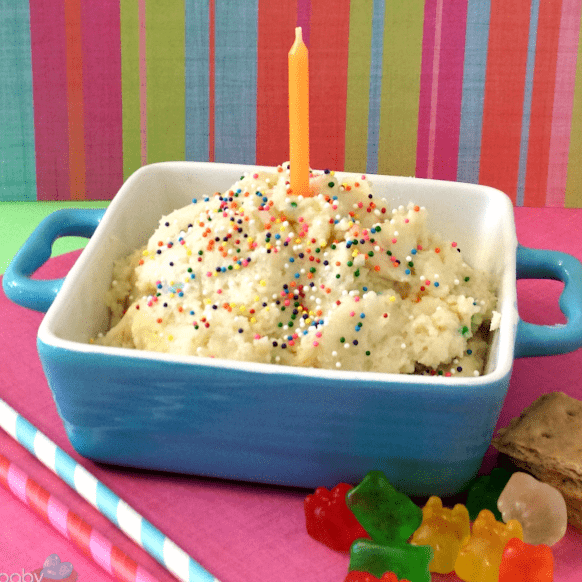 Strange Cake Batter Dip Recipe An Easy And Delicious 5 Ingredient Treat Funny Birthday Cards Online Elaedamsfinfo