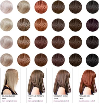 Madison Reed Hair Color Chart