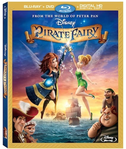 Disney Pirate Fairy DVD Blu Ray Box