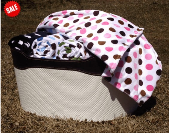 bebe bella designs minky blanket