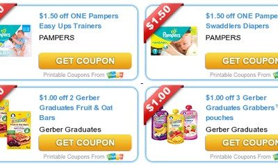 New Month = New Baby Coupons!