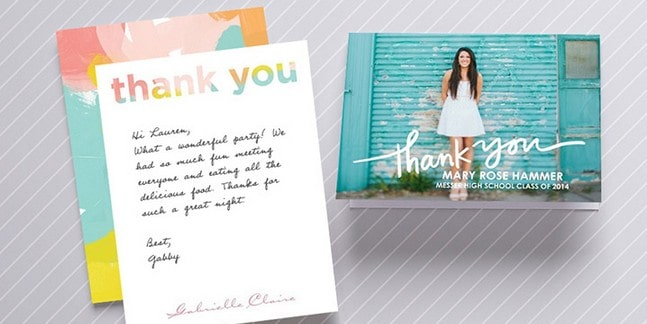 tiny prints promo code 50 off thank you cards one day only