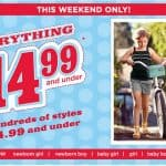 Gymboree.com: Everything $14.99 & Under! Extended through Today!