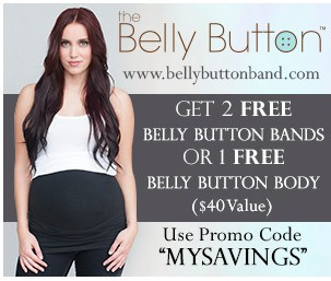 2 FREE Belly Button Bands or a FREE Belly Button Body!