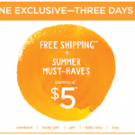 Gymboree.com: Summer Must Haves just $5 + FREE Shipping!