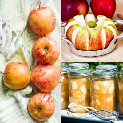 Easy Apple Pie Filling Recipe for Canning, Freezing or Using Right Away