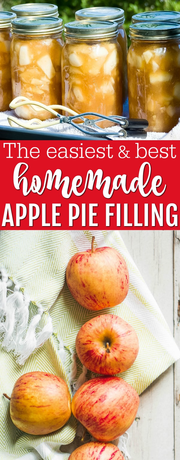canning apple pie filling recipe