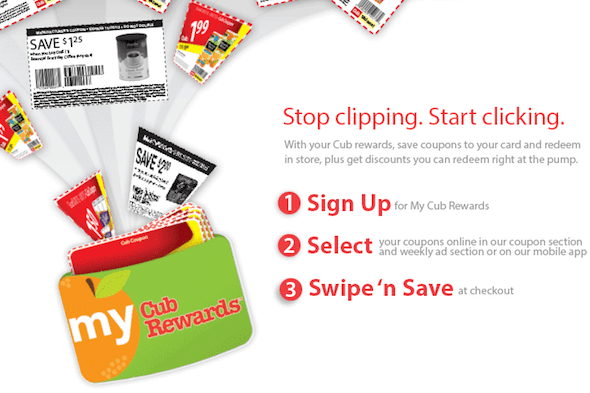 cub foods load to card coupons