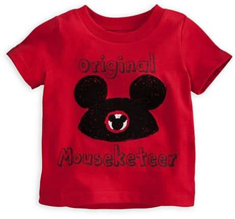 disney mouseketeer shirt