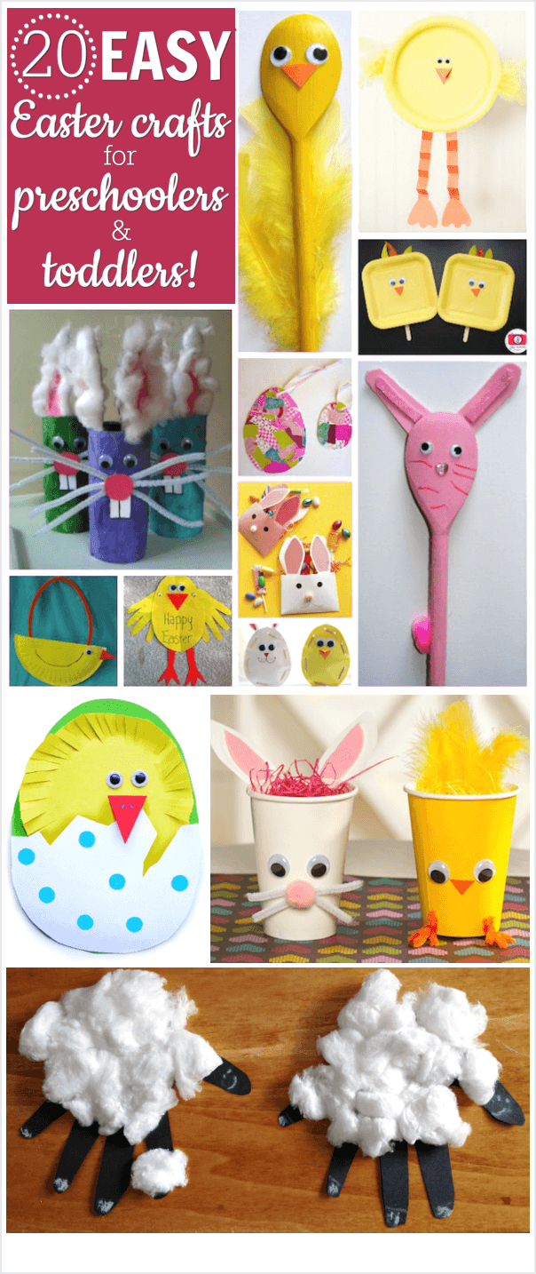 easter craft ideas preschoolers 20 easy easter crafts for preschoolers and toddlers 4310