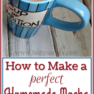 how to make a homemade mocha
