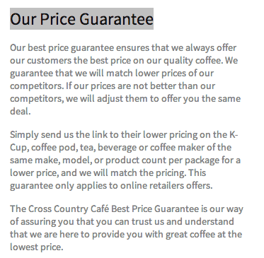 kcups best price guarantee