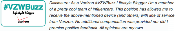 verizon blogger