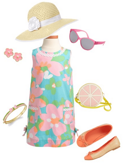 What would a little girl wear to the kentucky derby